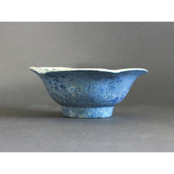 Cottage Josef Ekberg for Gustavsberg Ceramic Pottery Blueberry Bowl Fully Signed and Dated 1916 For Sale - Image 3 of 6