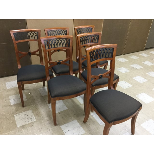 Century Furniture Capuan Biedermeier Chairs - Image 2 of 5