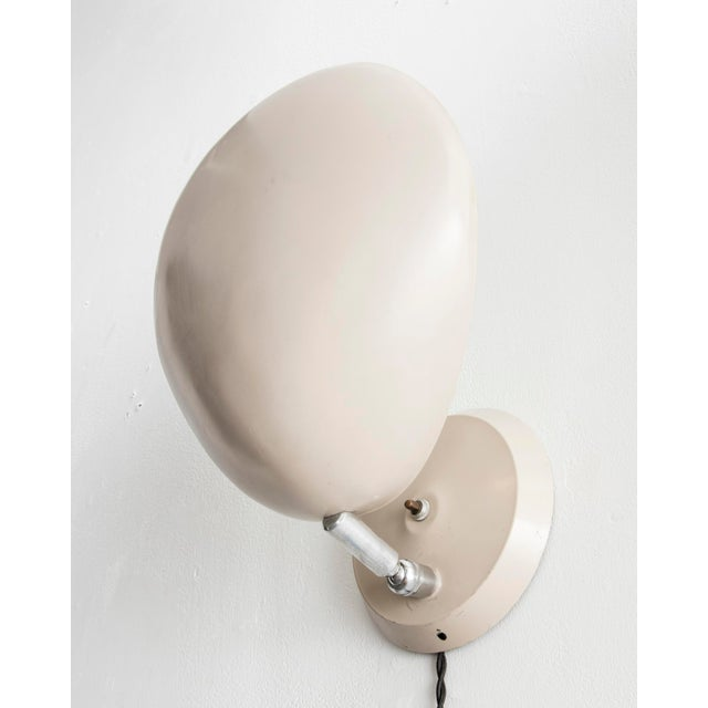 "Mid-Century Modern ""Cobra"" wall-mounted lamp For Sale - Image 3 of 6"