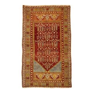 Vintage Turkish Oushak Rug, 03'01 X 05'01 For Sale