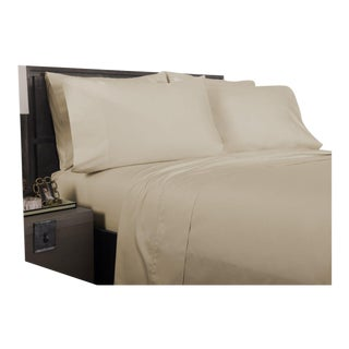 Florence Solid Pillowcases King - Pumice For Sale