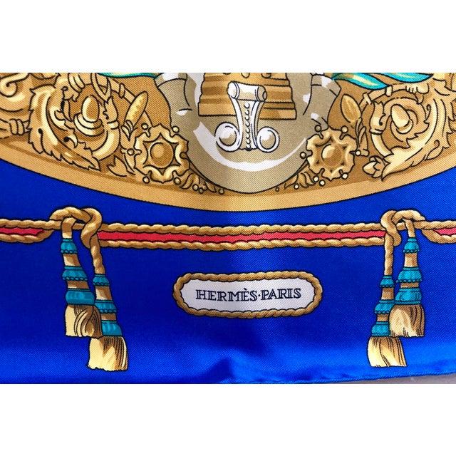 Hermès Hermès Homage a Charles Garnier Silk Scarf For Sale - Image 4 of 7