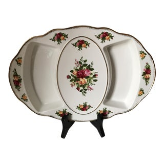 Royal Albert Old Country Roses Appetizer Tray