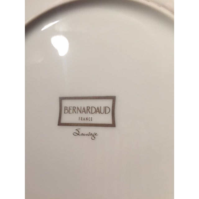 """Bernardaud Dinner PLUS Salad (or Dessert) Plates """"Sauvage"""" pattern - selling set of 8 each. Sauvage is a testament to a..."""