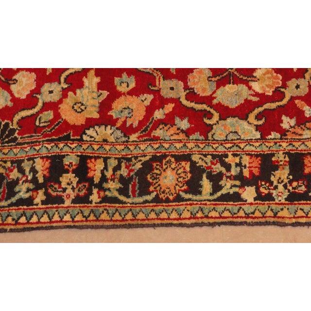 "African Afghan Wool Runner Rug - 10'7"" x 2'9"" For Sale - Image 3 of 4"