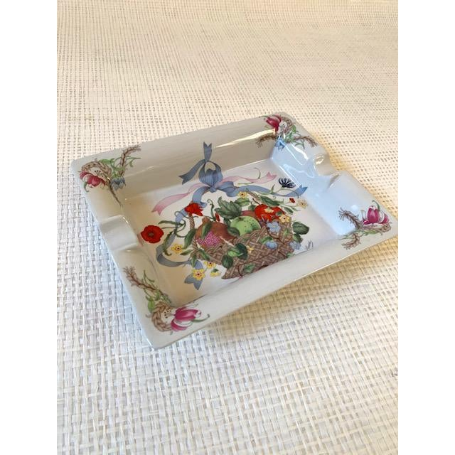 Ceramic Gucci Bouquet Ashtray/ Catchall For Sale - Image 7 of 8