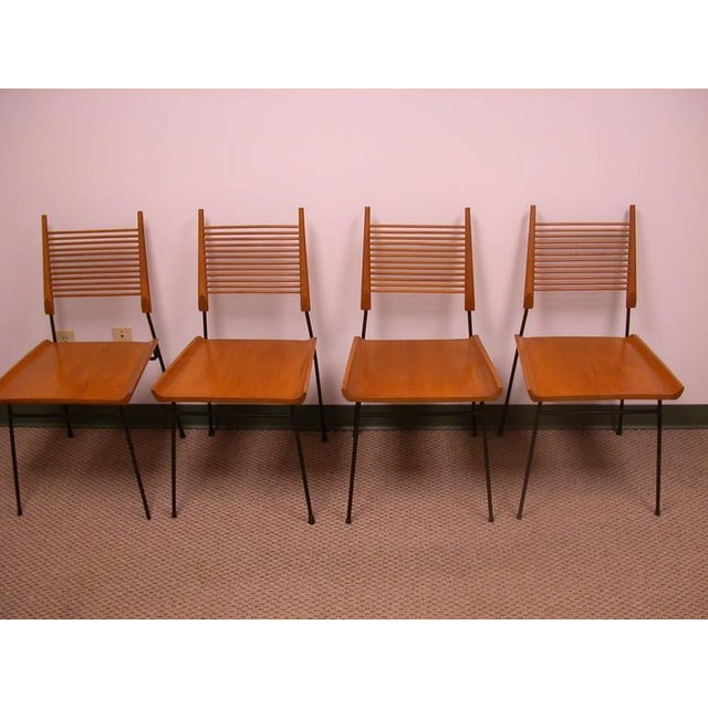 Vintage Paul McCobb Planner Group Dining Table Set - Image 2 of 2