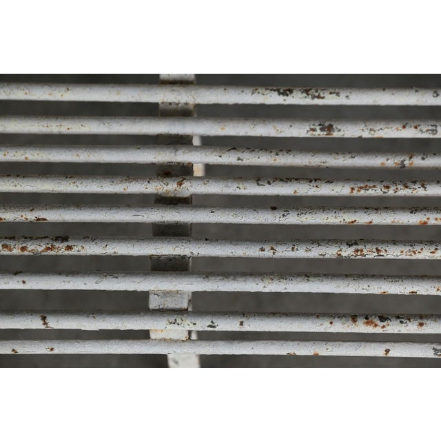 French Iron Bench For Sale In Houston - Image 6 of 10