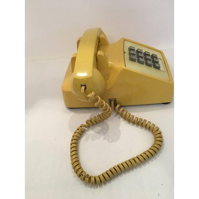 Vintage Bell Western Yellow Desktop Telphone - Image 7 of 9