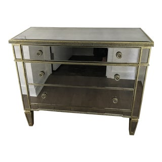 Basset & Co Mirrored 3 Drawer Entry Chest