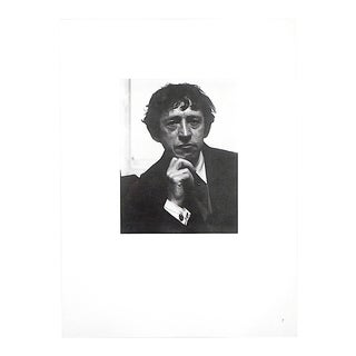 "Ltd. Ed. Vintage Photograph By Alfred Stieglitz (USA 1864-1946)-""Portrait-John Marin""[Modern Artist] For Sale"