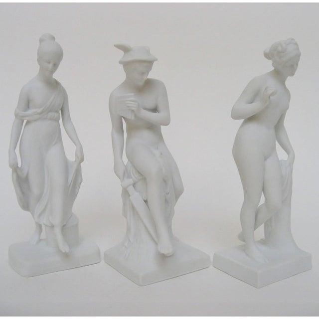 Bing & Grondahl Bing & Grøndahl Bisque Figurines, Set of 3 For Sale - Image 4 of 8