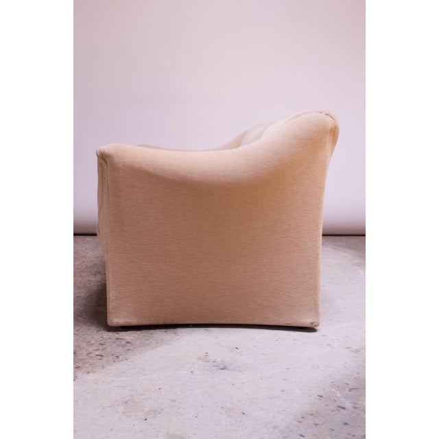 1970s 1970s Tentazione Loveseat Two-Seat Sofa by Mario Bellini for Cassina For Sale - Image 5 of 13