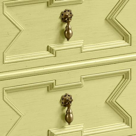 Traditional James Chest of Drawers, Pale Avocado For Sale - Image 3 of 4