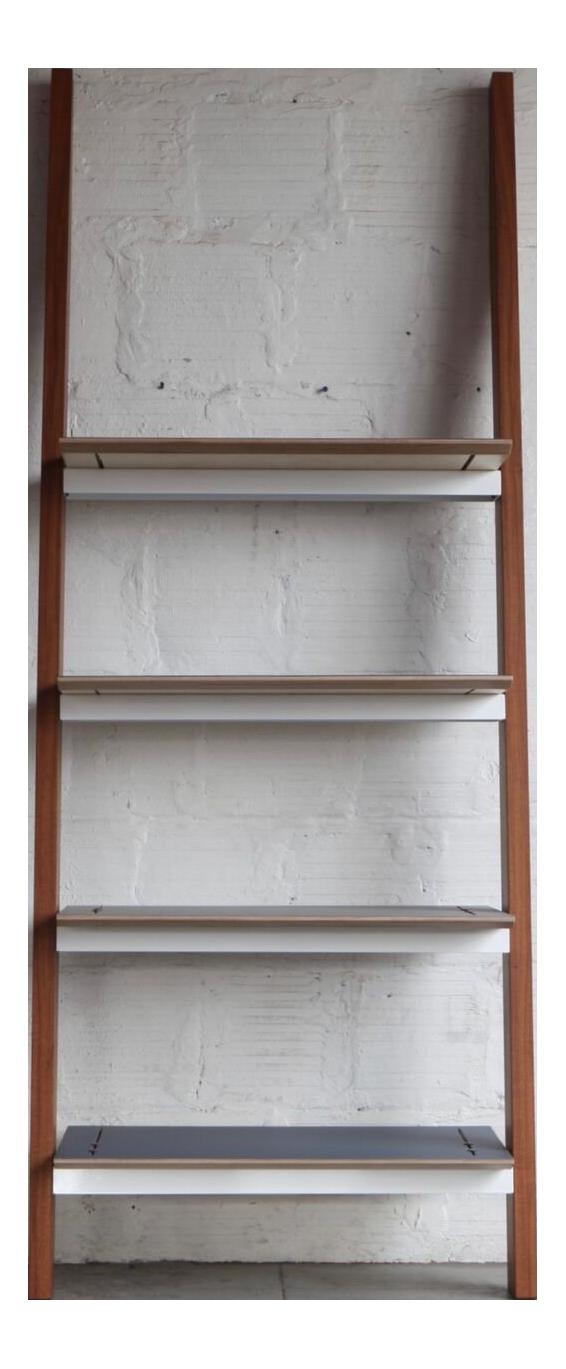Mid Century Modern Tgm Leaning Shelves