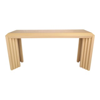 Mid-Century Modern Lacquered Console Table by Lane Furniture Company For Sale