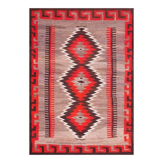 "Antique Navajo Rug 4'10"" X 7'0"". For Sale"