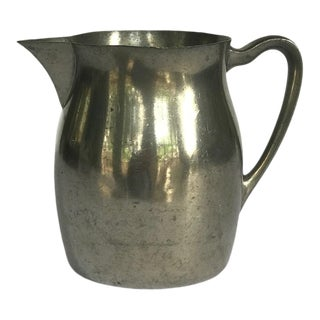 Vintage Royal Holland Pewter Small Pitcher For Sale