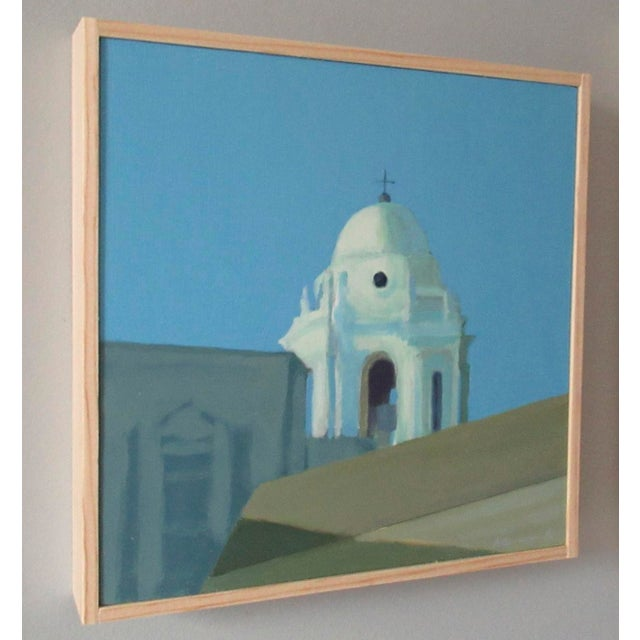 Contemporary Bell Tower of Cádiz Cathedral, Spain by Anne Carrozza Remick For Sale - Image 3 of 4