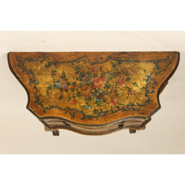 1920s Italian Painted Chest of Drawers For Sale - Image 10 of 13