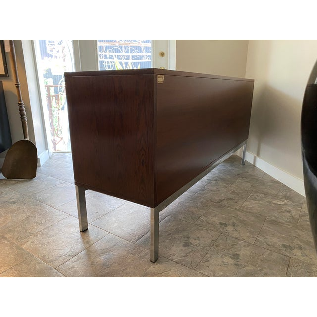 Brown Vintage Console, From Italma Furniture Company, Designed by Jean Gillon, For Sale - Image 8 of 13