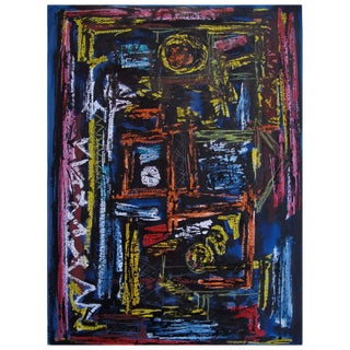 Modern Gouache on Paper by Robert Freiman For Sale