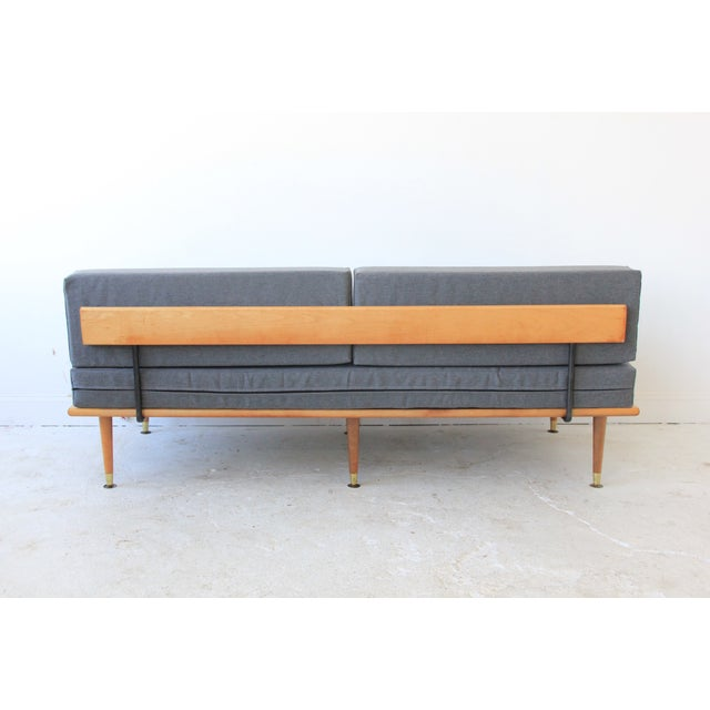 Mid-Century Modern Daybed in Granite Gray - Image 8 of 8