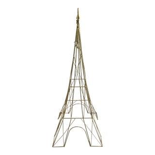 Iron Eiffel Tower Sculpture