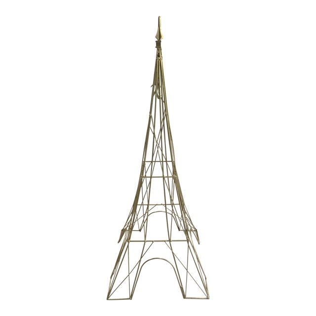 Iron Eiffel Tower Sculpture - Image 1 of 11