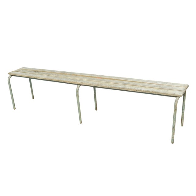 Tan Pair of Swedish Industrial Benches For Sale - Image 8 of 13