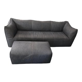 Mario Bellini for B&b Italia Le Bambole Sofa and Ottoman For Sale