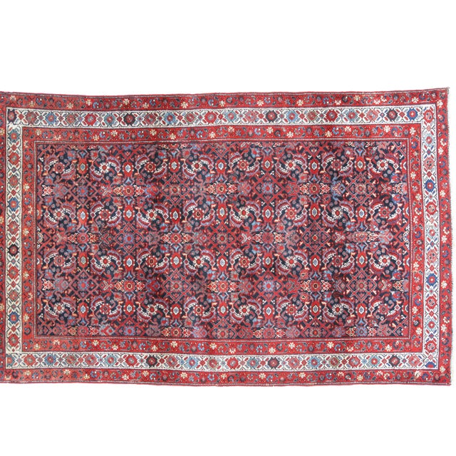 "Islamic Leon Banilivi Antique Persian Rug - 6'6"" X 4'1"" For Sale - Image 3 of 4"
