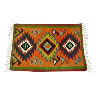Native American Style Rug - 3′3″ × 5′3″