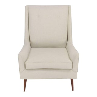 McCobb High Dowel Leg Lounge Chair For Sale