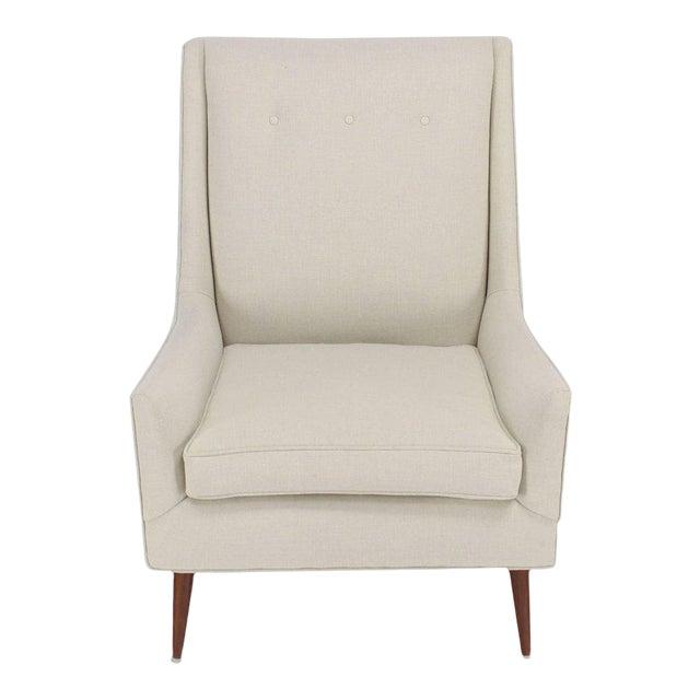 McCobb High Dowel Leg Lounge Chair For Sale