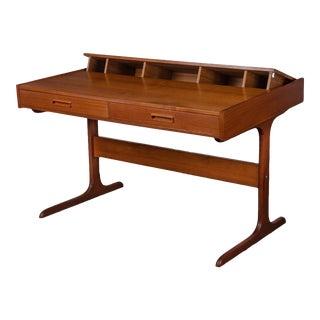 Danish Modern Teak Desk by Dyrlund-Smidt For Sale
