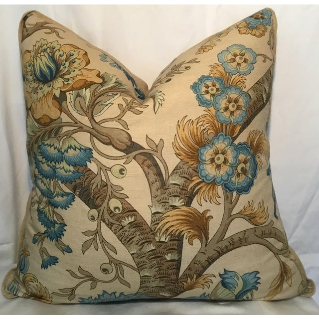 Ralph Lauren Pillow - Tree of Life Design - Pair Available For Sale - Image 13 of 13