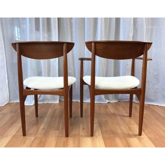 Set of 7 Uncommon Hvidt and Mølgaard-Nielsen Teak Dining Chairs for Søborg Møbelfabrik - Image 4 of 10