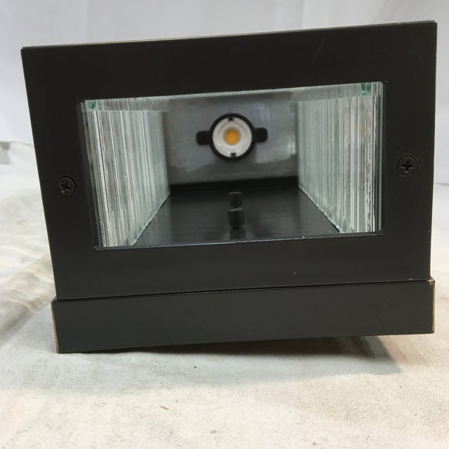 Maxim Lighting Geometric Waterfall Led Outdoor Wall Sconce For Sale - Image 11 of 12