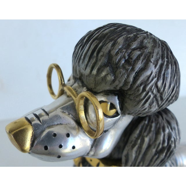 Articulated Poodle Sculpture - Image 11 of 11