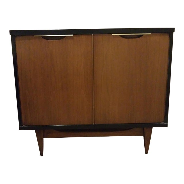 Kent Coffey, the Tableau Collection Walnut Nightstand or Media Cabinet - Image 1 of 6