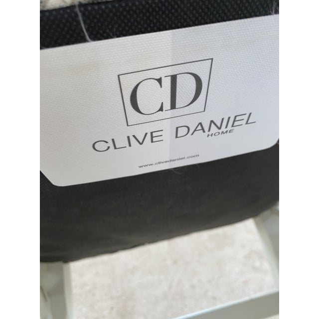 Clive Daniel Fretwork Chairs - Set of 3 For Sale - Image 11 of 13