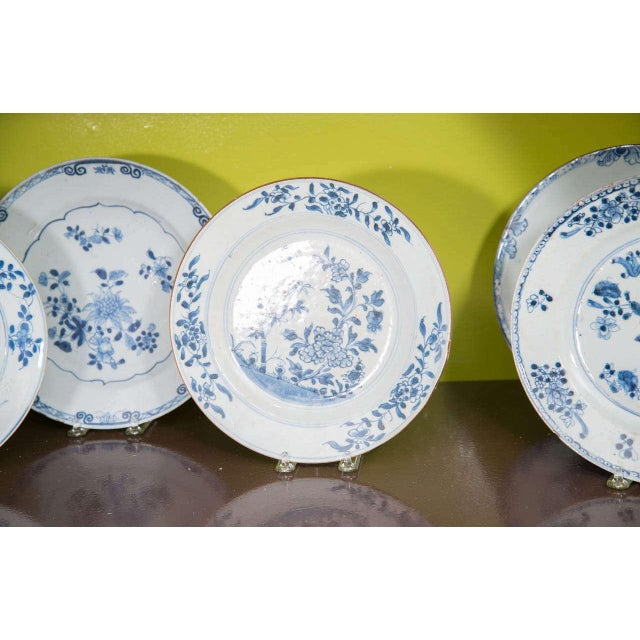 Chinese Export Porcelain Plates For Sale - Image 4 of 10