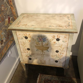 Vintage Italian Hand-painted Three Drawer Chest Preview