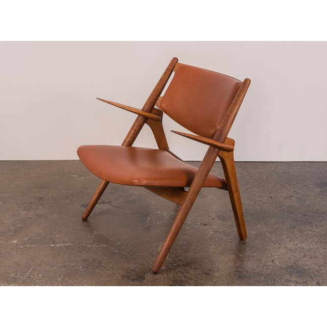 Hans J. Wegner Ch-28 Armchair for Carl Hansen & Son For Sale - Image 9 of 12