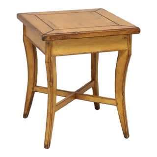 Woodland Furniture Idaho Falls Giles Distressed Cottage Style Accent Table 1 For Sale