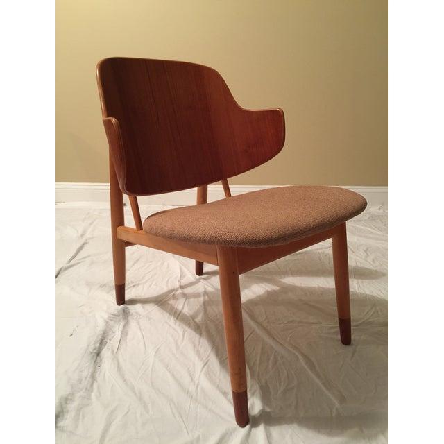Mid-Century Modern Ib Kofod Larsen Mid-Century Modern Penguin Chair For Sale - Image 3 of 9