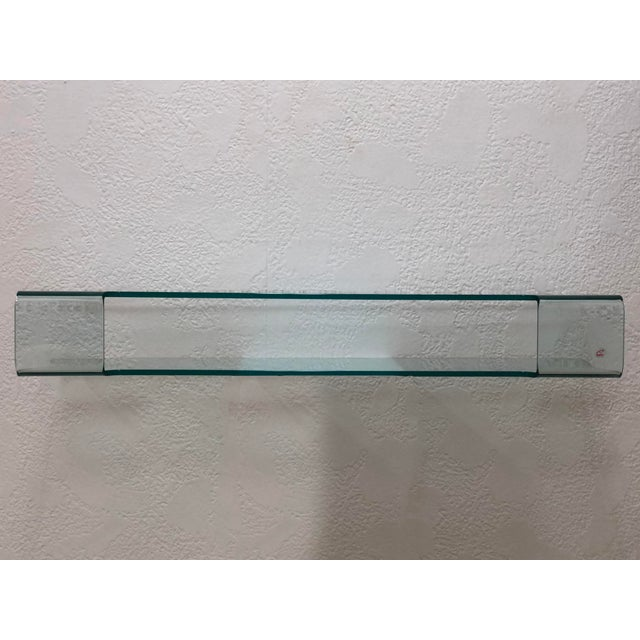 Calligaris Italian Glass Floating Vanity or Shelf For Sale In Tampa - Image 6 of 12