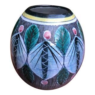 Tilgman's Swedish Bulbous Vase For Sale