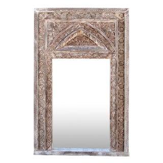 Architectural Whitewash Mirror